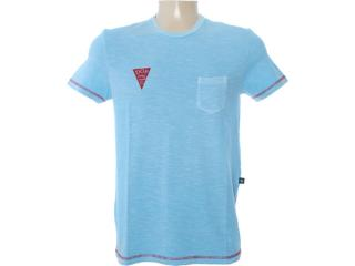 Camiseta Masculina Dopping 015262532 Azul - Tamanho Médio