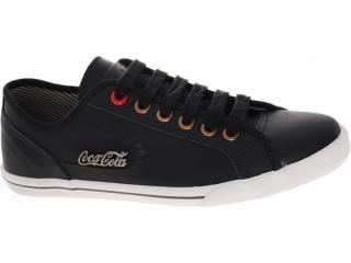 Tênis Masculino Coca-cola Shoes Cc0203 Preto - Tamanho Médio