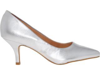Sapato Feminino Vizzano 1097300 Prata - Tamanho Médio