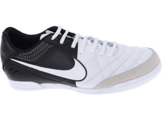 Tênis Masculino Nike 509090-105 Tiempo Natural iv Ltr ic Branco/preto - Tamanho Médio