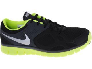 Tênis Masculino Nike 512019-007 Flex 2012 rn Preto/limão - Tamanho Médio