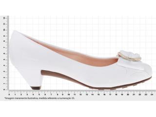 57ed43a7d Sapato Moleca 5139509 Branco Comprar ano todo na Loja...