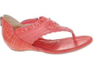 Sandália Feminina Comfortflex 82404 Coral - Tamanho Médio