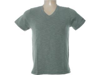 Camiseta Masculina Dzarm 6bql E9910 Verde - Tamanho Médio