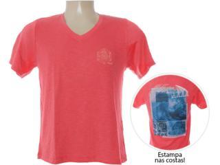 Camiseta Masculina Dzarm 6bwl Ryk10 Tomate - Tamanho Médio