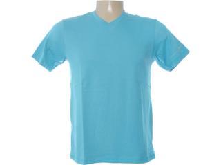 Camiseta Masculina Dzarm 6blm Au210 Oceano - Tamanho Médio