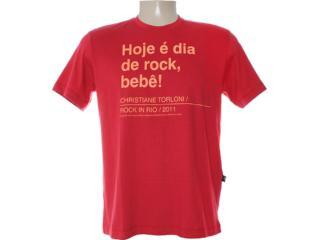 Camiseta Masculina Cavalera Clothing 01.01.6769 Vermelho - Tamanho Médio