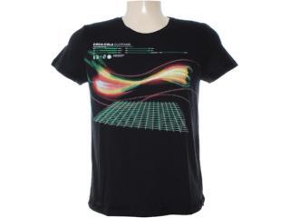 Camiseta Masculina Coca-cola Clothing 353203095 Preto - Tamanho Médio