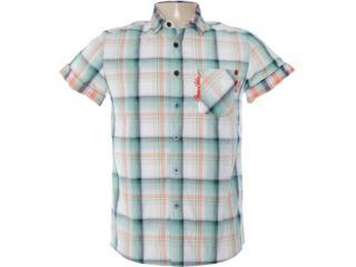 Camisa Masculina Coca-cola Clothing 313200298 Xadrez Verde - Tamanho Médio