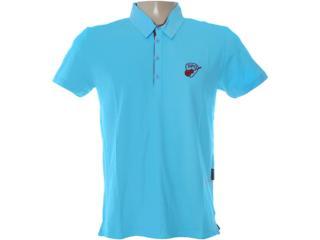Camisa Masculina Dopping 015462516 Azul - Tamanho Médio