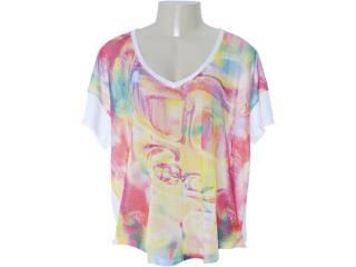 Camiseta Feminina Coca-cola Clothing 343200616 Branco - Tamanho Médio