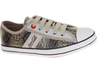 Tênis Feminino Coca-cola Shoes Cc0144 Cobra - Tamanho Médio