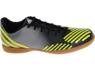 Tênis Masculino Adidas V22122 Predito lz in Grafite/preto/amarelo - Tamanho Médio