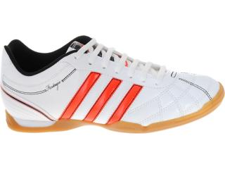 Tênis Masculino Adidas G60048 Heritagio v in Branco/laranja - Tamanho Médio