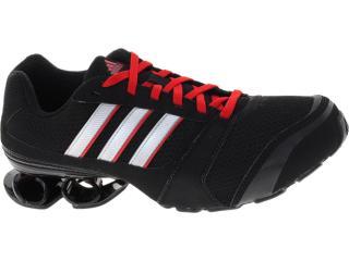 Tênis Masculino Adidas G60698 Komet Preto/prata/vermelho - Tamanho Médio