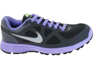 Tênis Feminino Nike 488151-010 Revolution Msl Chumbo/lilas - Tamanho Médio