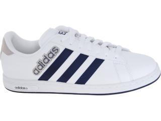 Tênis Masculino Adidas G52627 Derby ii Branco/marinho - Tamanho Médio