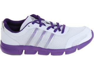 Tênis Feminino Adidas G60832 Breeze w Branco/lilas - Tamanho Médio