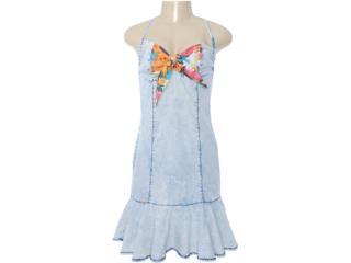 Vestido Feminino Dopping 018012507 Jeans - Tamanho Médio