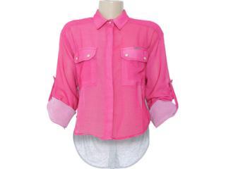 Camisa Feminina Dopping 011802505 Rosa - Tamanho Médio