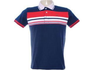Camisa Masculina Dopping 015462522 Marinho/rosa - Tamanho Médio