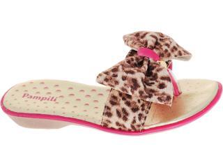 Tamanco Fem Infantil Pampili 602.979.946 Leopardo Pink - Tamanho Médio