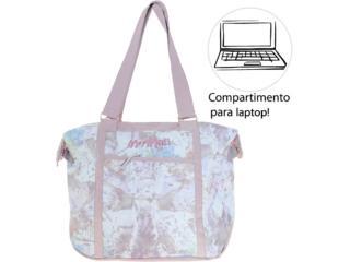 Bolsa Feminina Mormaii Mpar56005 Estampado Rose - Tamanho Médio