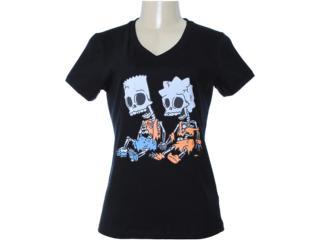 T-shirt Feminino Cavalera Clothing 09.02.1012 Preto - Tamanho Médio