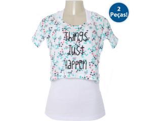 Blusa Regata Feminina Hering 4cn4 1b10s Branco - Tamanho Médio