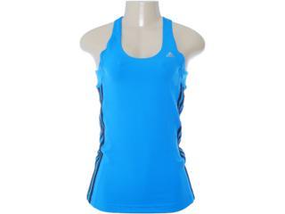 Regata Feminina Adidas W67499 Azul/preto - Tamanho Médio