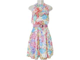 Vestido Feminino Dopping 018002545 Floral - Tamanho Médio