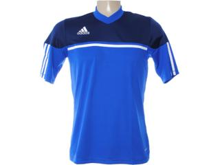 Camiseta Feminina Adidas X19629 Azul/marinho - Tamanho Médio