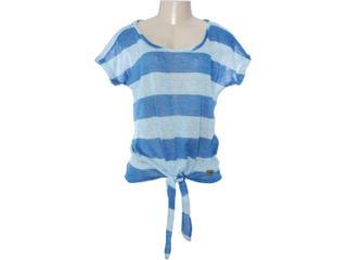 Blusa Feminina Lado Avesso 80465 Azul Aquatico - Tamanho Médio
