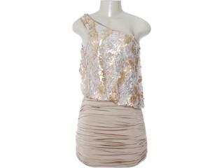 Vestido Feminino Lado Avesso 80515 Champanhe - Tamanho Médio