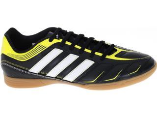 Tênis Masculino Adidas G60098 Ezeiro Iii in Preto/amarelo/branco - Tamanho Médio