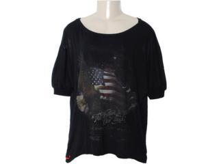 T-shirt Feminino Coca-cola Clothing 343200594 Preto - Tamanho Médio