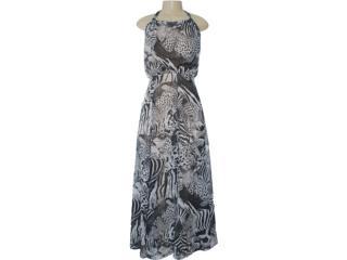 Vestido Feminino Margo 1431 Estampado - Tamanho Médio