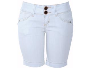 Bermuda Feminina Lado Avesso 80159 Jeans - Tamanho Médio