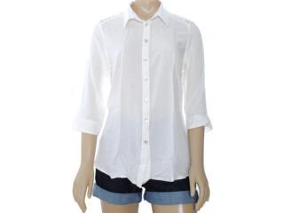 Camisa Feminina Intuição 122604 Off White - Tamanho Médio