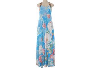 Vestido Feminino Intuição 112215 Azul - Tamanho Médio