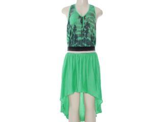 Vestido Feminino Moikana 8053 Verde - Tamanho Médio