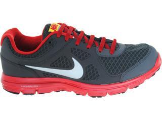 Tênis Masculino Nike 488216-010 Lunar Forever Chumbo/vermelho - Tamanho Médio