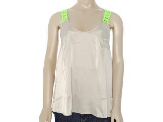 Camisa Feminina Moikana 8137 Caqui - Tamanho Médio