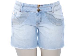 Short Feminino Lado Avesso 80387 Jeans - Tamanho Médio
