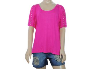 Blusa Feminina Lado Avesso 80449 Pink - Tamanho Médio
