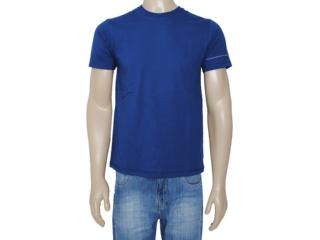 Camiseta Masculina Dzarm 6blp Au410 Marinho - Tamanho Médio