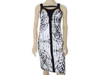 Vestido Feminino Lafort E13v685 Branco Estampado - Tamanho Médio