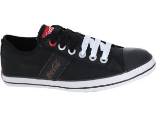 Tênis Masculino Coca-cola Shoes Cc0212 Preto - Tamanho Médio