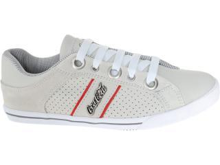 Tênis Masculino Coca-cola Shoes Cc0208 Off White - Tamanho Médio
