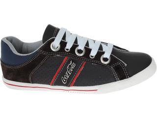 Tênis Masculino Coca-cola Shoes Cc0208 Brown - Tamanho Médio